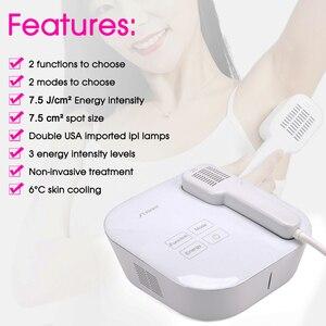 Image 4 - Elight IPL depilación permanente depiladora láser IPL Bikini pierna axila mujeres Depilación Láser máquina de belleza rejuvenecimiento de la piel