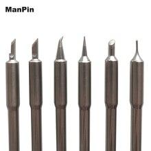 Für SCHNELL TS1200A Löten Eisen Tipps Löten Station Maschine Blei Kostenloser Griff Schweißen Stift Kopf Handy Reparatur Werkzeuge