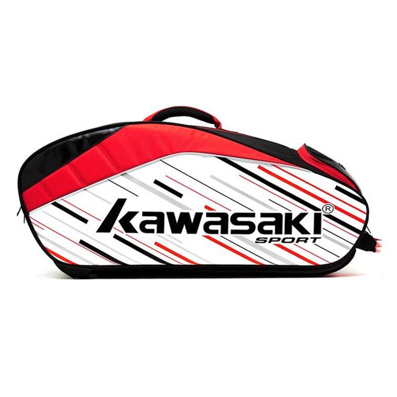 Hommes femmes Badminton sac raquette sport sac à dos avec chaussures sac peut contenir 6 pièces Badminton raquettes