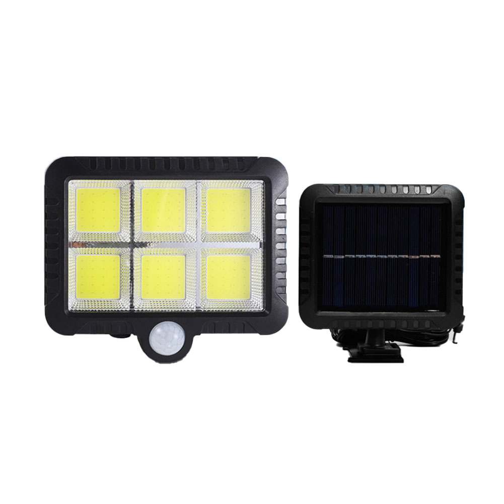 120 COB Outdoor Solar Wall PIR Light Motion Sensor Solar Lamp For Garden Courtyards Support Dropshipping