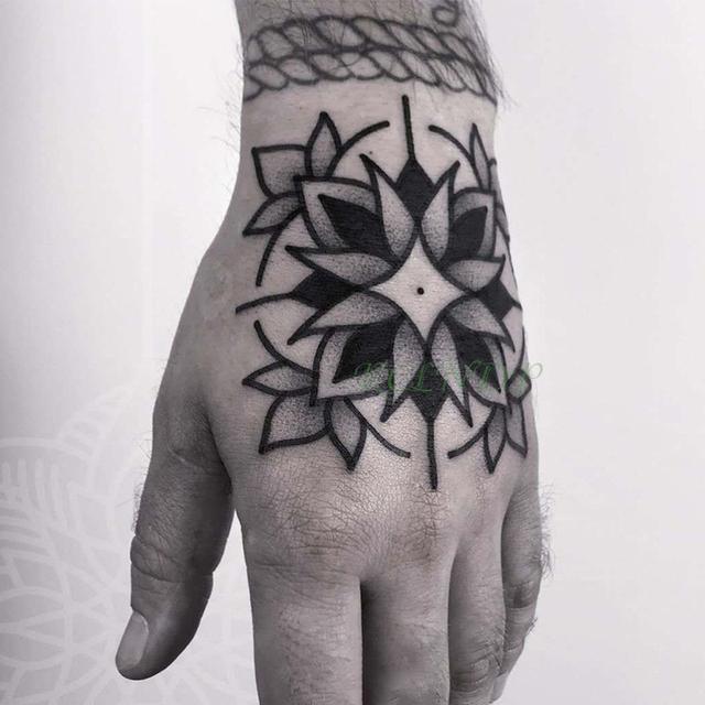 Waterproof Temporary Tattoo Sticker Flower Rose Fake Tatto Flash Tatoo Hand Arm Foot Back Tato body art for Girl Women Men