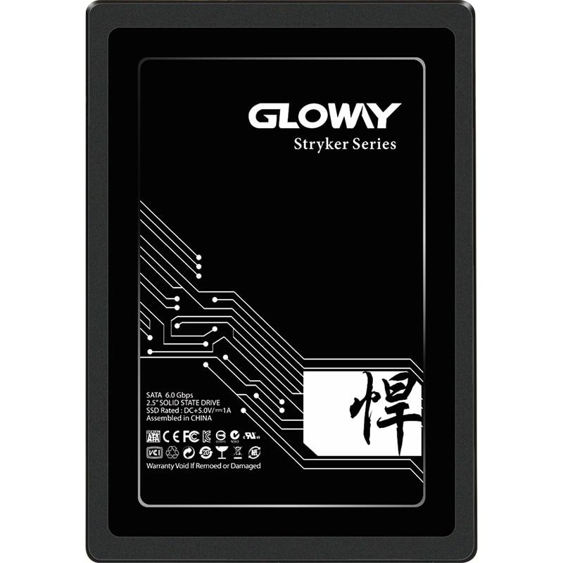 Gloway 2.5 Inch SATA3.0 SSD  SATAIII SSD 240GB 960GB 480GB Internal HD Disk For Laptop Desktop