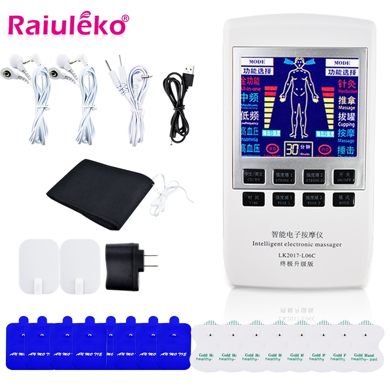 Electrical Muscle Relax Tens Acupuncture Stimulator Massager   Machine  X