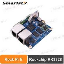Rock Pi E Rockchip RK3328 512MB/1GB DDR3 SBC/pojedyncza płyta podstawka komputerowa Debian/Ubuntu/OpenWRT taki sam jak Nanopi R2S zastosowanie do IOT