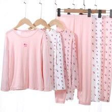 Underwear-Set Spring Girl Cotton Sleepwear Boy for 3-10-Years Pajamas Soft Kids New