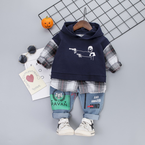 Children Clothing Autumn Spring Toddler Boys Clothes Outfit Kids Clothes Girls Sport Suit For Boys Clothing Sets 1 2 3 4 5 Year