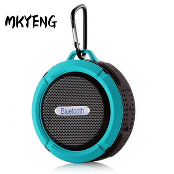 C6 Waterproof Bluetooth Speaker Outdoor Sucker Mini Bluetooth Speaker Mobile Phone Car Subwoofer Small Speaker image