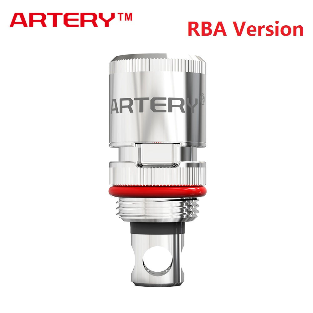 Original Artery RBA Coil For Artery Pal 2 Kit & Pal 2 Pro Kit 1pc/pack Electronic Cigarette Pal 2 RBA Coil Vs HP Coil
