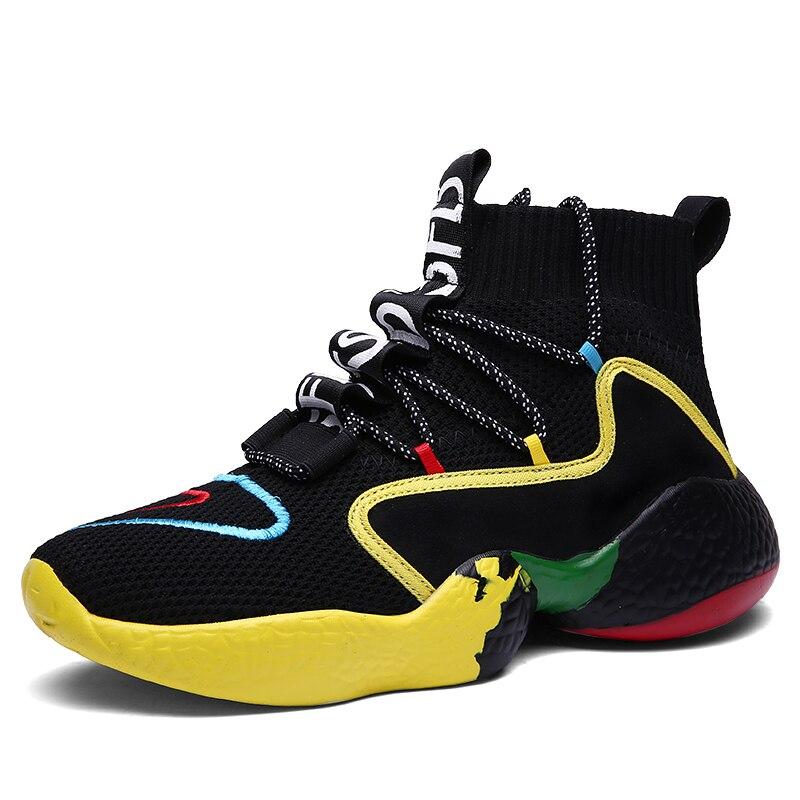 Men Casual Shoes Fashion Sneaker Women's Vulcanize Shoes Flyknit Flats Walking Shoes Unisex Tenis Masculino Adulto Big 47 48