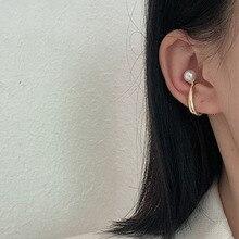 New Hook Geometric U Earcuff Clip on Earrings Earless No Pie