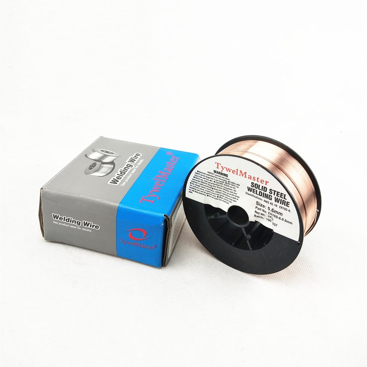 ER70S-6 MIG Welding Wire 1KG #1 #2 Mini Spool ER50-6 0.6 0.8 0.9mm 0.023 0.03 0.035