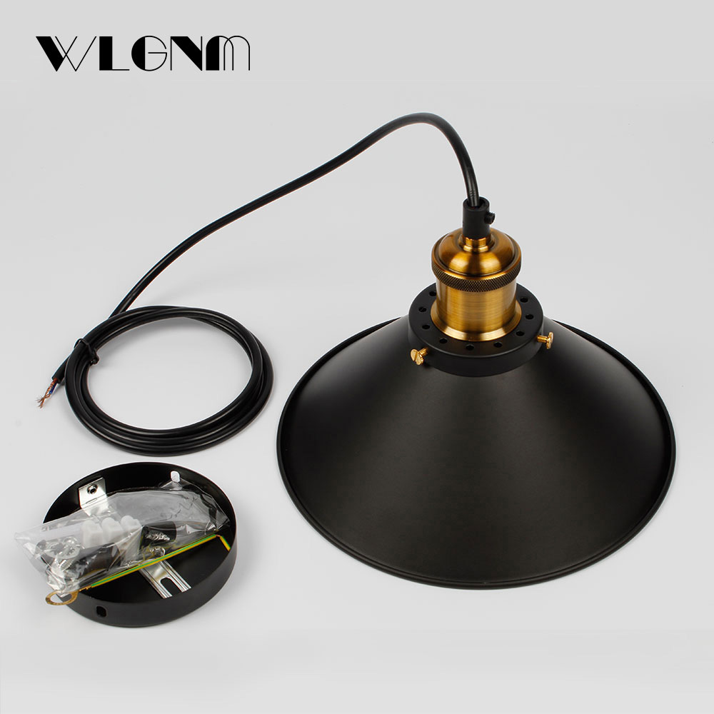 Image 5 - Industrial Pendant Lights Vintage pendant Lamp Hanging lamp modern pendant ceiling lamps LED restaurant Living room decorationPendant Lights   -