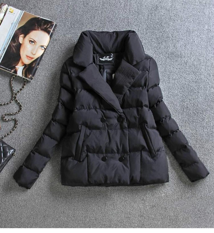 Women Coat Thin Cotton Clothing Short Coat 2019 New Slim Cotton Jacket Ladies Winter Jacket Coat Women Parka