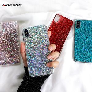 Bling Glitter Phone Cases For Samsung S20 Ultra S10 S9 S8 Plus Note 10 9 8 A70 A50 A30 A40 A20 A10 A60 A80 A90 Case Cover(China)