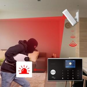 Image 5 - Tuya 433MHz واي فاي الجيل الثالث 3G 4G نظام المنزل جهاز إنذار ضد السرقة ، تطبيقات التحكم اللاسلكي إنذار المضيف عدة مع Ptz IP كاميرا مراقبة الطفل