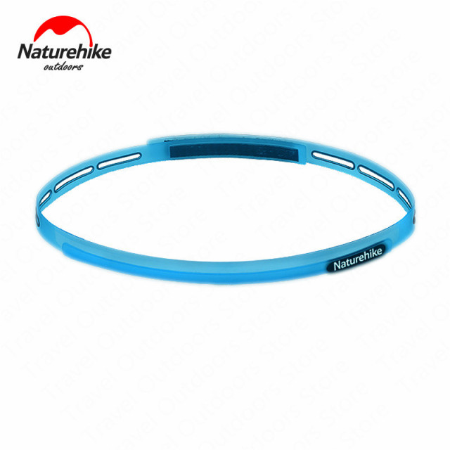 Naturehike unisex silicone elastic sweat wicking belt breathable sports fitness hiking bike antiperspirant belt NH17Z010-D 1