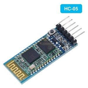 Image 3 - Tzt hc05 HC 05 master slave 6pin JY MCU anti reverso, módulo de passagem serial integrado de bluetooth, dai serial sem fio