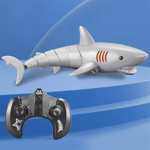 Remote Control Shark 2.4G 5Channel Electric Simulation RC Fish Water Swimming Pool Children Underwater Toys