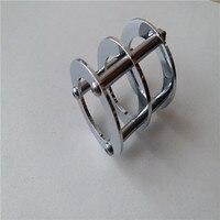 1 pçs cerâmica tubo soquete titular 6n1-p cromo cobre para 12ax7 12u7 t7 6922 tubo amplificador