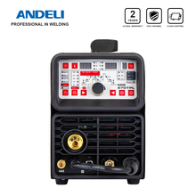 ANDELI Equipo de soldadura multifunción, herramienta 4 en 1, MIG pulsado, TIG, MMA y soldado en frío, máquina para soldar