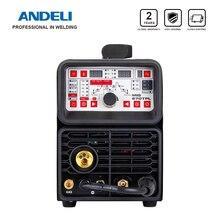 ANDELI многофункциональный сварочный аппарат MIG TIG Pulse MMA и холодная сварка 4 в 1 Многофункциональный сварочный аппарат MIG