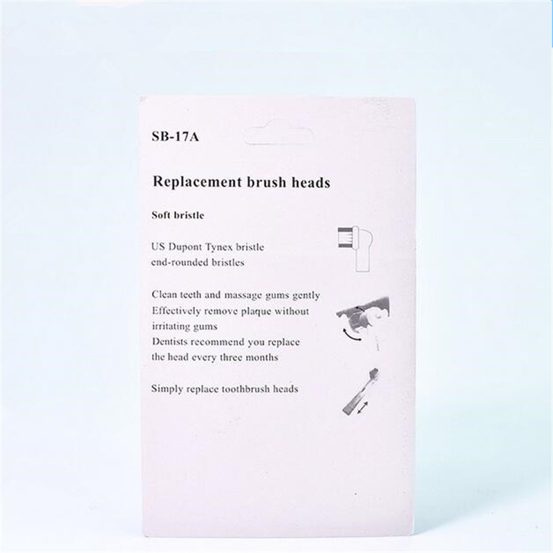 40Pcs or 20pcs or 16pcs Replacement Toothbrush Heads for Oral EB 17 SB-17A Hygiene Care Clean Electric Tooth Brush 4