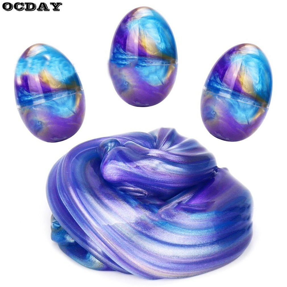OCDAY Crystal Modeling Clay Amazing Starry Sky Slime Mud Putty Colorful Scented Stress Relief Kids DIY Educational Clay Toy Gift