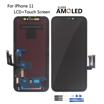 OEM For iPhone 11 Screen LCD Display Touch Screen Digitizer Assembly For iPhone11 OLED LCD Display With 3D Touch premium quality for iphone x oled amoled lcd display 3d touch screen digitizer lcd for iphonex replacement assembly parts