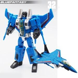 Image 5 - Самолет режим полета команда трансформация G1 Storm Flighter деформация фигурка игрушка
