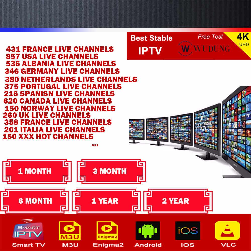 Лучшая подписка на IPTV Европа французский арабский Великобритания США Швеция  Португалия Испания XXX канал IPTV Android box Smart M3u Enigma2 
