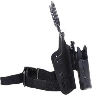 Tactical Drop Leg Gun Holster for BERETTA M92 Glock 17 19 CZ75 TAURUS PT840 HK USP SIG SAUER 226 Holster Pistol Airsoft Platform 5