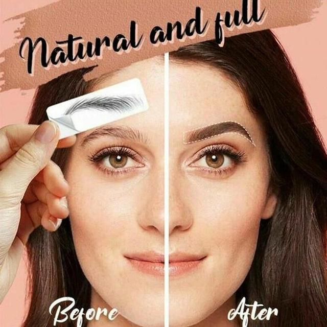 Fashion 4D Hair-like Eyebrow Tattoo Sticker 4D Hair-like Authentic Eyebrows Waterproof Long Lasting for Women Lady 5