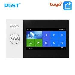 Sécurité à la maison de cambrioleur de GSM GPRS de WIFI à la maison sans fil de Tuya de PG-107 avec le contrôle d'app de système d'alarme de cambrioleur de capteur de détecteur de mouvement