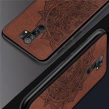 For Xiaomi Redmi 9 Case Silicon Rubber Texture Printing Pattern TPU Phone Cover For Redmi 9A Case for Redmi 9C Note 9S Note 9