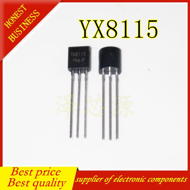 Free Shipping 20pcs/lot A Battery LED Flashlight Boost IC YX8115 8115 Original Authentic