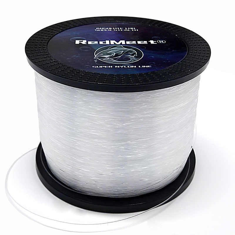Angling Nylon Braided Fishing Lines Thread Monofilament Strong Fish Wire