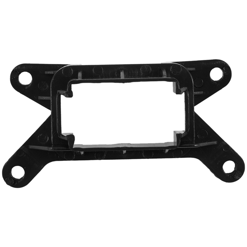 2Din Car Installation Frame for KIA Forte Park(Hazard) Light Stereo Fascia Trim Dash Kit Adapter Panel Casing-0