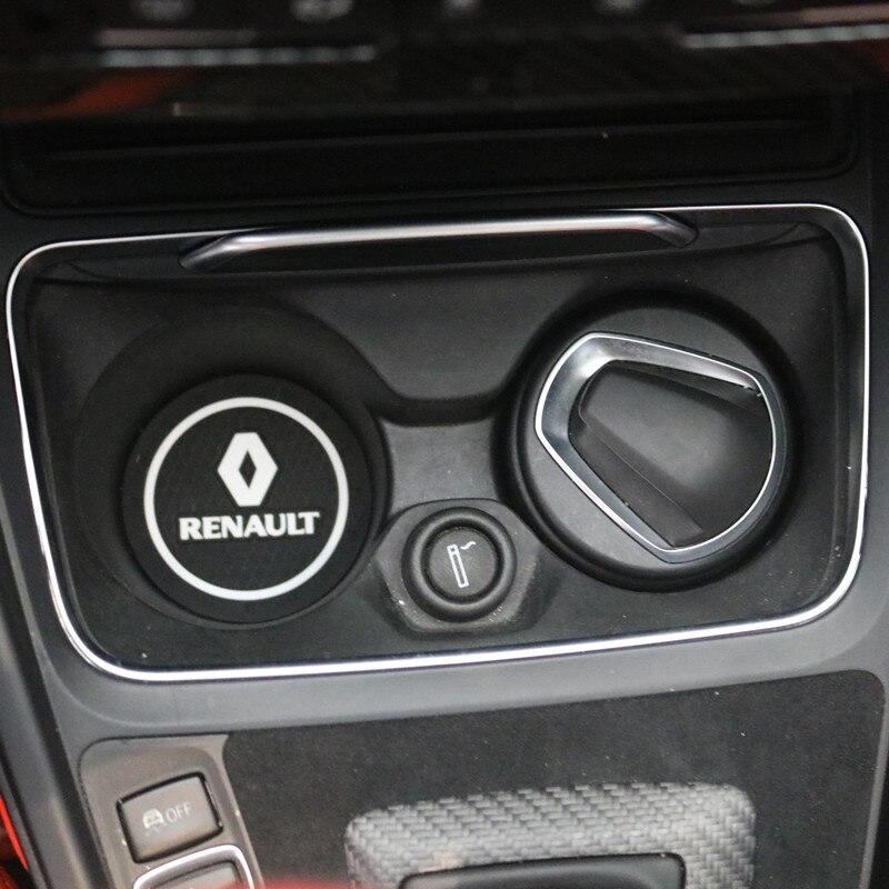 3D автомобильный держатель для чашки бутылки воды Противоскользящий коврик силикагель для Renault Laguna 2 Captur Fluence Megane 2 Megane 3 Scenic