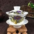 2020 neue Ankunft 230ml Chinesische Hand Gemalt Tee-Set Terrine Farbwechsel Muster Gaiwan Hohe Qualität Chinesischen Teaset Tasse