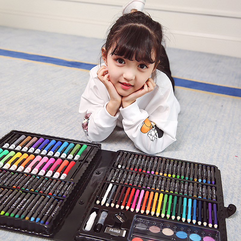 Children's Day Gifts Birthday Gifts Painting Stationery Set Prize Gift Box Brush Student Gift Christmas 168