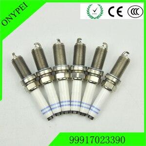 6 pcs 99917023390 0242245570 FGR5NQE0 Normal Power Spark Plug For Porsche cayman panamera 3.6 4 Boxster 3.4 GTS 911 3.8S Targa 4