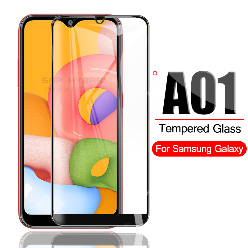 Tempered Glass For Samsung Galaxy A01 A 01 SM-A015F/DS Screen Protector For Samsun Sansumg Galaxy A01 Protective Glass Cover