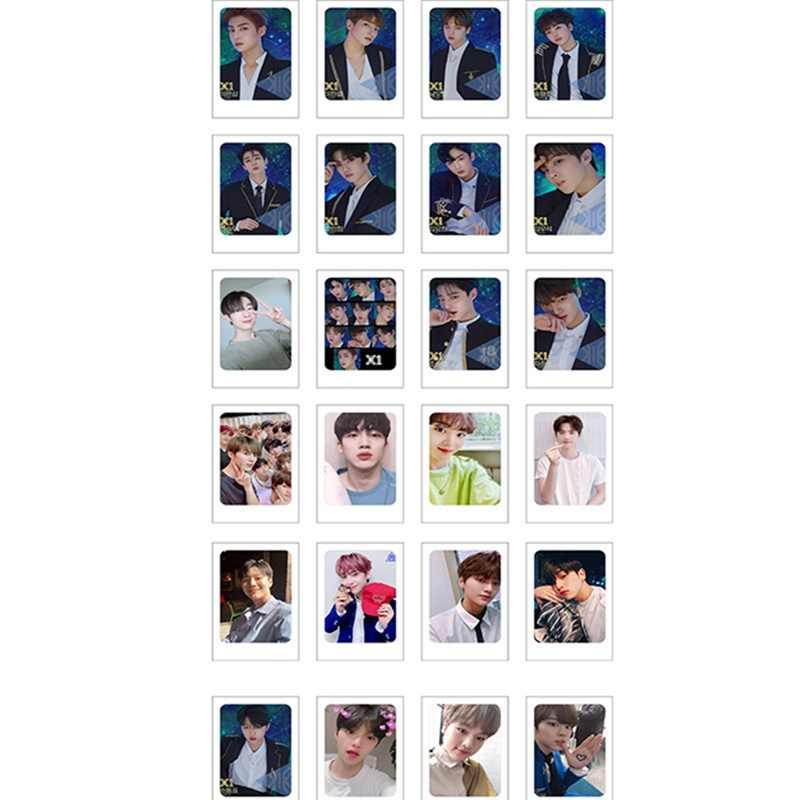 Kpop X Lomo tarjeta canción Hyung Jun HD Photocard producir x 101 hijo Dong Pyo colectiva tarjeta 24 piezas