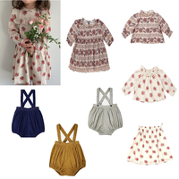kids jumpsuit cloth girls clothing sets baby girl clothes family matching clothes autumn