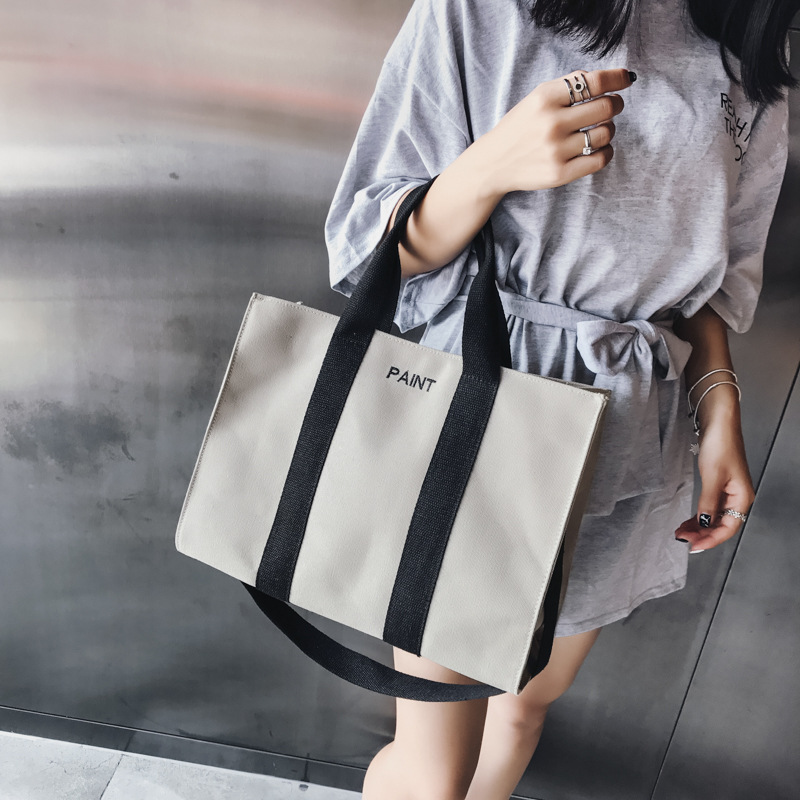 Crossbody Bags For Women Fashion Large Capacity Shoulder Bags Handbag High Quality Canvas Casual Tote Chic Hand Bag Briefcase