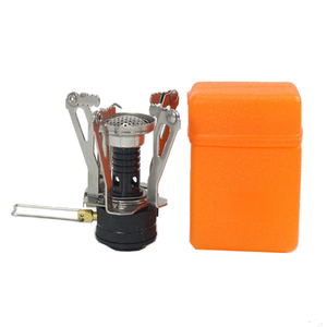 New type small portable camping stove folding outdoor gas stove cooking picnic split stove burner