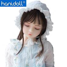 Hanidoll Silicone Sex Doll 100cm Mini Love Metal Skeleton Full Sized Realistic Vagina Oral Anal Breast Masturbator doll