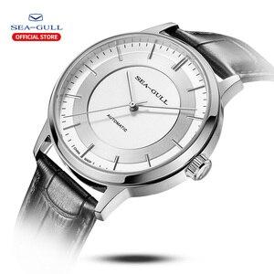 Image 2 - Seagull мужские часы автоматические механические часы Классическая серия Бизнес повседневные водонепроницаемые сапфировые часы 519.12.6061