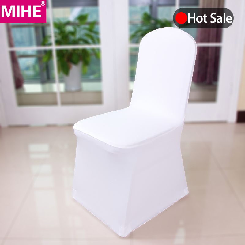 50//100PCS Spandex Lycra Chair Covers For Wedding Party Event Banquet Decor