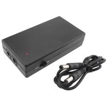 цена 12V2A 22.2W Multi-purpose UPS Uninterruptible Power Supply Backup Power Micro Battery for Camera Router Intelligence онлайн в 2017 году